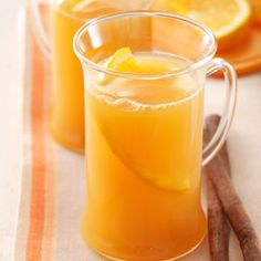 Cider Wassail Recipe: Since it's warm, wonderful and non-alcoholic, we've even served it at church. It's also perfect for a holiday open house.