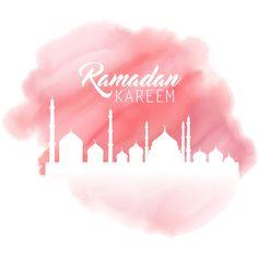 Painting Of Pink Color Ramadan Kareem Mosque background  http://www.cgvector.com/?s=ramadan