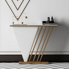 Console Table Living Room, Console Table Styling, Modern Console Tables, Study Room Design, Home Room Design, Consoles, Foyer Design, Coffee Table Design, Decoration