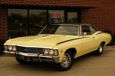 Stock '67 Impala SS
