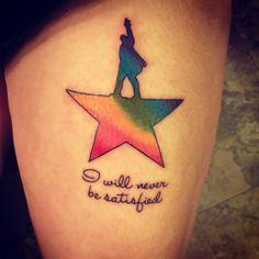 hamilton tattoo | Tumblr