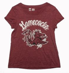 SC Gamecocks Scoop Neck Women's Size M on Mercari Go Gamecocks, College T Shirts, South Carolina Gamecocks, T Shirts With Sayings, Cool Items, Clothing Items, Cool T Shirts, Scoop Neck, Clothes For Women