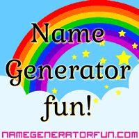 Name Generator Fun: Cool Name Generators!
