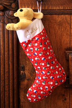 Another free Christmas stocking pattern and tutorial