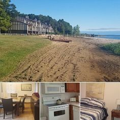 This Lake Huron 3-bedroom, 2-bath condo by Team Coast 2 Coast sleeps up to 12 with direct water access and shared resort amenities. Contact the owner directly for the lowest off-season rates!   #bookdirect #itscabintime #travelmi #greatlakes
