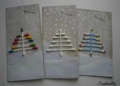 idee cartes de noel tiges