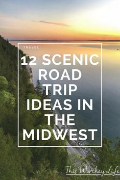 Gas up your car and head out to find some of the best scenic spots in Michigan and surrounding areas for 12 Scenic Fall Road Trip Ideas In The Midwest Us Road Trip, Family Road Trips, Road Trip Hacks, Family Travel, Midwest Vacations, Arizona Road Trip, Road Trip Destinations, On The Road Again, Road Trip Essentials