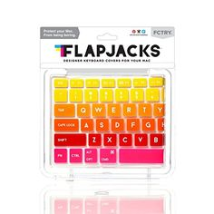 8aa39c21417 Flapjacks Keyboard Covers - Tequila Sunrise Flapjacks https://www.amazon.com