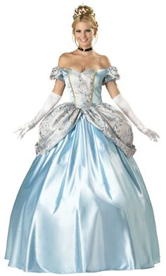 About to buy this cinderella ball-gown to add to my collection. This will be my very own costume for work!