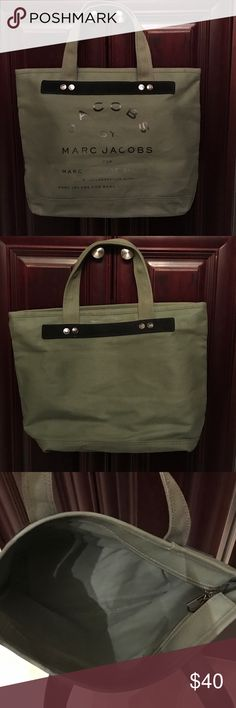 Jacobs by Marc Jacobs green tote Jacobs by Marc Jacobs green tote in heat condition. Worn only once!! Marc Jacobs Bags Totes