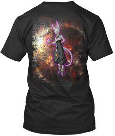 God of Destruction Beerus - Back Design