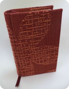 Textured Fabric handmade notebook by BookbindingWorkshop on Etsy, €30.00