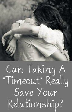 """Can Taking A """"Timeout"""" Really Save Your Relationship? http://positivemed.com/2015/01/15/can-taking-timeout-really-save-relationship/"""