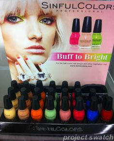 Sinful Colors Buff to Bright Collection