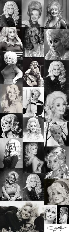 Dolly Parton collage