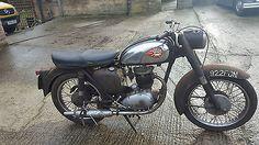 1962 BSA B40 350cc OHV Single. Running Barn Find / Classic Project.