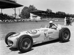 Kurtis Kraft Offenhauser at the Indy 500 Race, 1953.