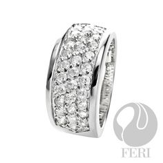 Global Wealth Trade Corporation - FERI Designer Lines Wedding Jewelry, Wedding Rings, Bridal Bands, Jewelry Collection, Bridal Collection, Cool Things To Buy, Stuff To Buy, Band Rings, Sterling Silver Jewelry