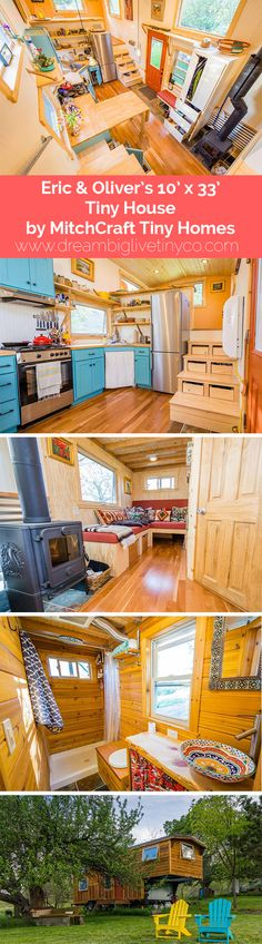 Eric & Oliver's 10' x 33' Tiny House by MitchCraft Tiny Homes