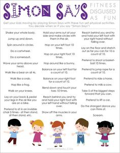 Gym Games For Kids Physical Education Brain Breaks 65 Best Ideas Gross Motor Activities, Preschool Activities, Children Activities, Fitness Activities, Physical Activities For Kids, Kids Printable Activities, Music Activities, Listening Activities For Kids, Learning Games