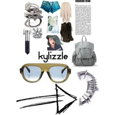 Kylie Jenner Inspired Look by lexy13430 on Polyvore featuring polyvore, fashion, style, Ted Baker, True Religion, Giuseppe Zanotti, BERRICLE, Decree and CÉLINE