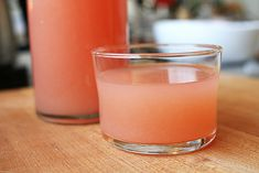 Grapefruit and lime juice