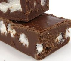 Chocolate Marshmallow Fudge - Weight Watchers