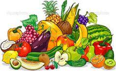 Risultati immagini per ortaggi e frutta immagini e disegni