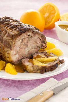 Un secondo piatto originale e raffinato come l'#ARROSTO all'ARANCIA (beef roast with orange sauce) è perfetto per un'occasione speciale! #ricetta #GialloZafferano #italianfood
