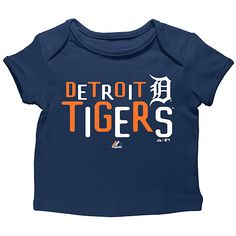 Detroit Tigers Infant Pepper Game T-Shirt by Majestic Athletic  - MLB.com Shop