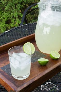 Limeade Recipe This homemade Limeade Recipe is cool and refreshing and perfect for any event or just a lazy afternoon. Find the recipe on Today's Creative Life. Share by Practically Functional http://todayscreativelife.com/limeade/?utm_campaign=coschedule&utm_source=pinterest&utm_medium=Today%27s%20Creative%20Life%20&utm_content=Limeade%20Recipe