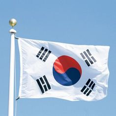 Soccer Nation Flag SOUTH KOREA (3ft x 5ft, 150x90cm)