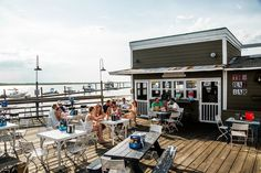 An Island-Hopping Southern Seafood Crawl From the bottom of Georgia up to Charleston, S.C., stopping for luxe lodging and delicious, dicey  seafood shacks along the way