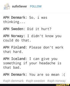 Aww Denmark XD