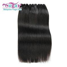 Đường Trinh Tóc Malaysia Straight 3 Giao Bó 7A Trinh Malaysia Straight Hair Malaysia Trinh Tóc Thẳng Tóc Dệt