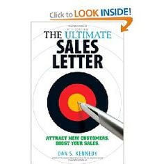 For any entrepreneur or salesperson, writing a great sales letter is an absolute requirement. This book provides methods and strategies for writing that perfect sales letter and building a customer database.
