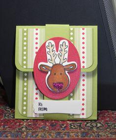 FF16scraperwannabe Gift card holder easy w Rudolph