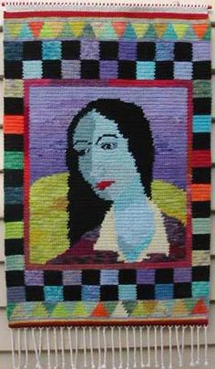 tapestry crochet - This inspires me. don't know if I will ever master the technique enough for this though!  haha