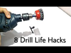 Make CUTTER From Drilling Machine ( Metal, Wood & Marble ) - YouTube