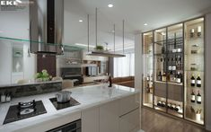 Thiết kế cải tạo căn hộ Panorama 130m2 - EKE INTERIOR Kitchen Cabinets, Projects, Home Decor, Kitchen Wall Cabinets, Log Projects, Homemade Home Decor, Decoration Home, Room Decor, Kitchen Base Cabinets
