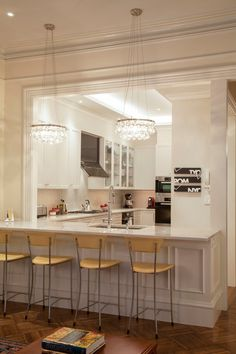 Copia de residencia Bay, Boston.  Duffy Group Design.