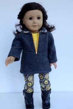 Hey, I found this really awesome Etsy listing at https://www.etsy.com/listing/169327523/american-girl-doll-clothes-capris