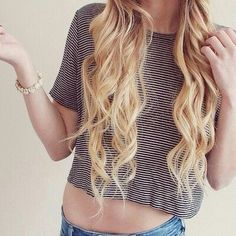 what i want my hair to look like, except as a brunette.