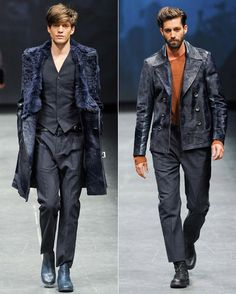 Is Blue the new Black - Mens fashion trends fall 2013
