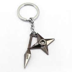 Naruto Anime Alloy Pendant Keychain Keyring Key Charm Key Ring Hot Sale own
