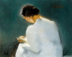 Maria Artist: Helene Schjerfbeck Completion Date: 1906 Style: Expressionism Genre: genre painting