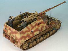 Panzerjäger Hornisse 8,8 cm PaK L71 auf Geschützwagen III/I von Matthias Andrezejewsky (1:35 Dragon)
