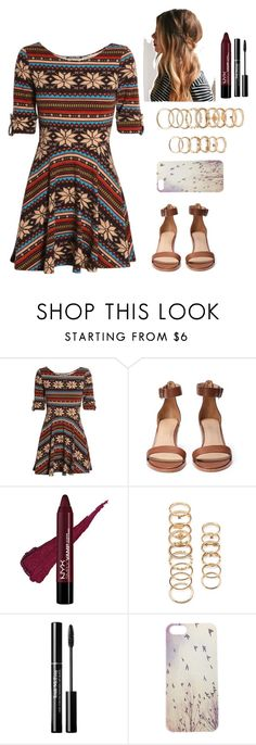 """""""Anna XV"""" by thepearllesswonder ❤ liked on Polyvore featuring Club L, Forever 21, Trish McEvoy and Wet Seal"""