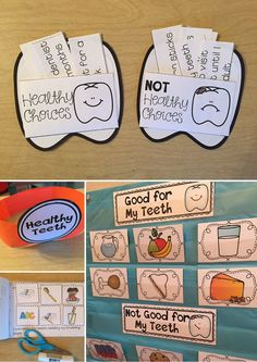 Health Unit: Activities to Teach about Teeth and the Dentist Dental Health activities for Kindergarten and First Grade--the interactive reader is my favorite!Dental Health activities for Kindergarten and First Grade--the interactive reader is my favorite! Health Facts, Oral Health, Dental Health, Health Unit, Health Activities, Space Activities, Creative Activities, Kindergarten Activities, Interactive Activities