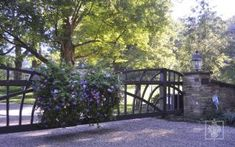 Aristotle Design Group Landscape Design Cast Iron Gate